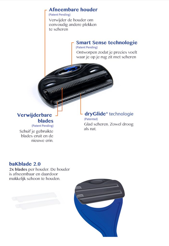 baKblade 2.0 Close Up | baKblade.nl